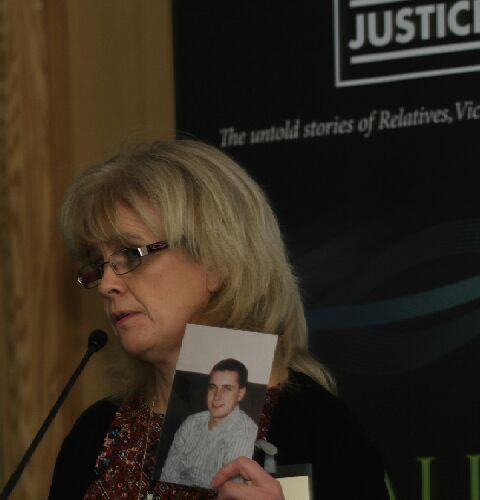 Roisín Uí Mhuirí - sister of Kevin Barry O'Donnell